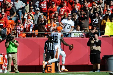 NFL: Cleveland Browns at Kansas City Chiefs