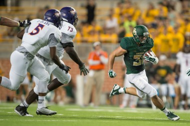 Baylor Running Back Silas Nacita. More character in his pinky toe than the NCAA in ALL IT'S BANK ACCOUNTS!