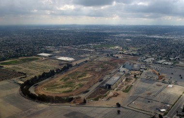 The newest site of the next biggest $2 billion taxpayer headache in Inglewood, California.