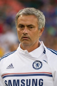 This is Jose Mourinho's derp face. Ladies, he's lookin' at you.