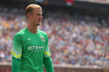 Manchester City Goal Keeper Joe Hart put up a huge defensive display against Barca; but the score largely ignored his efforts.