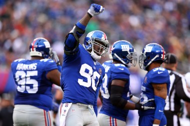Honestly, the franchise tag only makes sense for big linemen in my eyes. I'm glad the Giants held on to JPP. They need all the help they can get.