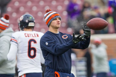 This was the most visually compelling action shot I could find for Jimmy Clausen. It's also rather poetic...no?