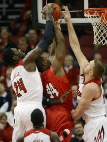 Harrell has the ability to block shots, which could make him a fit in Boston