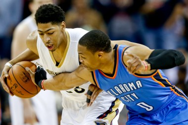 Russell Westbrook and Anthony Davis' battle for the eight seed has come down to the final night of the season