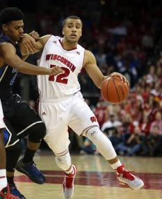 Traevon Jackson played a huge role last time Wisconsin met Duke, now he hardly plays