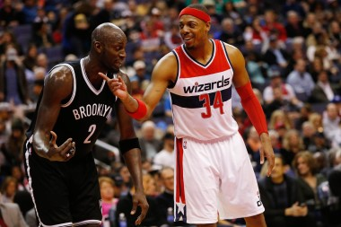 Pierce and Garnett had to push the Nets harder than they expected to before Pierce unwillingly left KG behind