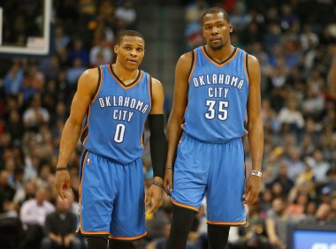 Durant and Westbrook have taken the reins to the offense under Brooks