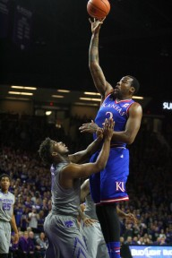 Alexander was considered in a class with Okafor in high school, but took a huge step back at Kansas