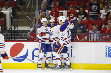 NHL: Edmonton Oilers at Carolina Hurricanes