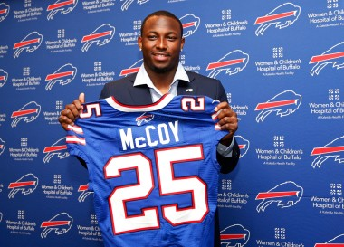 LeSean McCoy may be bitter after being traded, but he also may have a point