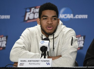 Karl-Anthony Towns has a shot to be the first player taken in the NBA draft