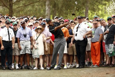 Fans seem to be hoping for something from Tiger Woods that's clearly no longer there