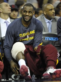 LeBron James will have plenty to smile about once the NBA's new TV deal kicks in