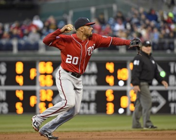 Ian Desmond has had a tough time in the field this season to say the least