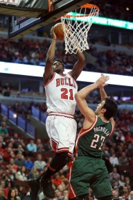 Butler has been the Bulls' leading scorer in both their postseason games so far.