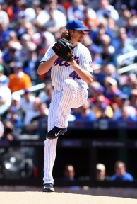deGrom is off to a fantastic start to the season