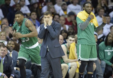 Brad Stevens and the Celtics had a tough time with the Cavs, but they learned a lot about their young team in the process