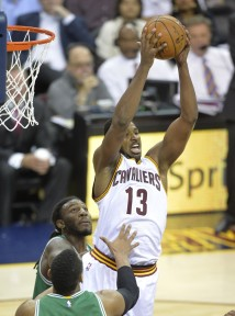 Tristan Thompson's offensive rebounds have been one of they keys to the series