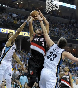 Nothing has come easy for the Blazers in this series, especially not in the paint