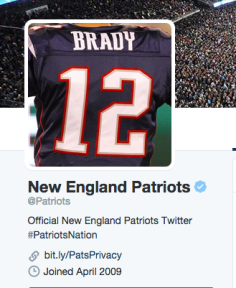 The Patriots Twitter Avatar shows where their allegiances stand following the punishments handed down from the NFL