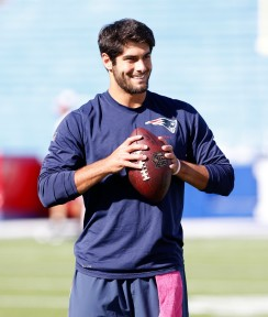 Garoppolo will match Brady's handsomeness on the field ... but then things start to drop off a little bit.