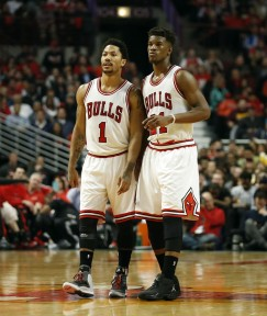 Rose and Butler seemed to gel well in the playoffs and get along off the court. Reporting a feud over one bad game seems like a reach.