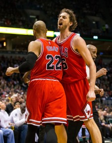 Pau Gasol and co. had a pretty easy time getting past the Bucks in Game 6