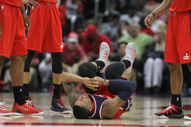 Bradley Beal  had a nasty twist of the ankle on Sunday; if he can't bounce back before Tuesday look for Otto Porter to more minutes.