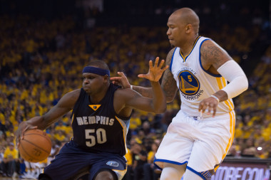 Marreese Speights is likely to see more minutes against the big men of Memphis during this series.