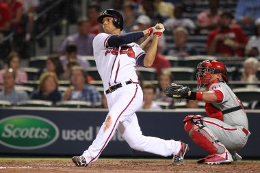 Atlanta Braves shortstop Andrelton Simmons might develop into a regular in my lineups if he keeps up his recent level of production.
