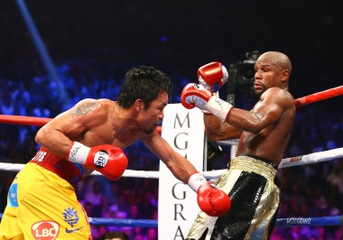 This picture sums up what we can expect from any Mayweather vs. Pacquiao fight very well
