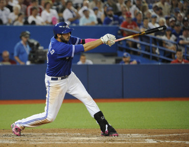Toronto Blue Jays left field Chris Colabello is putting up some numbers worth keeping an eye on recently.