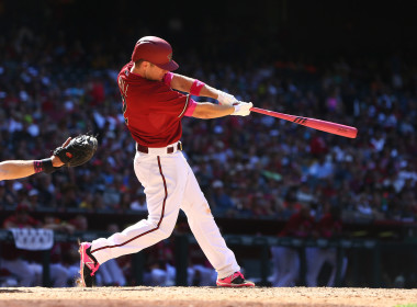 Arizona Diamondbacks third baseman Aaron Hill is swinging for the fences and may pay off for you in your DFS leagues.