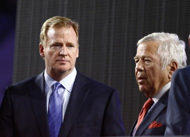 Kraft decided to step up and not only end the battle with Goodell, but support the commish as well.