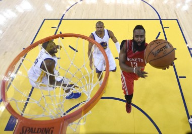 Harden carved up the Warriors' defense all night, but failed to do so on the final play.
