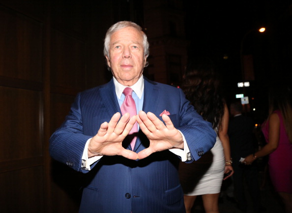 NEW YORK, NY - JUNE 17:  Robert Kraft attends The 40/40 Club 10 Year Anniversary Party at 40 / 40 Club on June 17, 2013 in New York City.  (Photo by Johnny Nunez/WireImage)