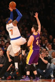 The Knicks have a laundry list of things to do to rebuild, but the biggest one if moving Carmelo to gain young talent.