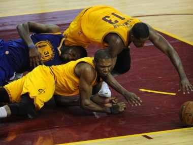 Despite the Cavaliers having the better game plan, it's also pretty helpful that they're the first ones to the floor for the ball.