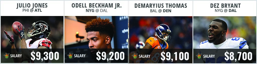 NFL Salary Release - WR Day 2