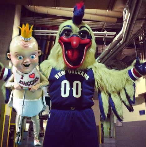 New Orleans Pelicans Debut New Playoff Bound Sleeved