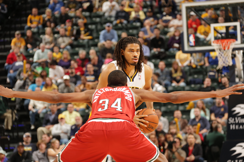 Miwaukee Bucks v Indiana Pacers