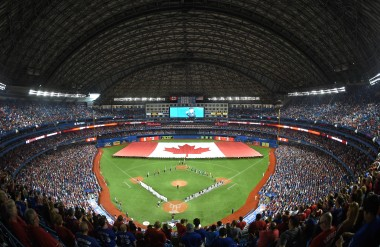 ...a full Rogers Center could be a scary place...