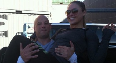 Ronda Rousey Eats 50 Hot Wings Post-Fight And Is Training Vin Diesel's Daughter