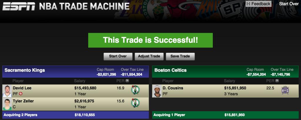 Cousins Trade 1