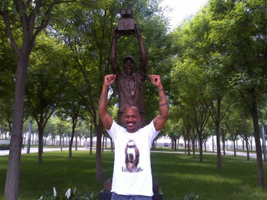 Marbury Statue