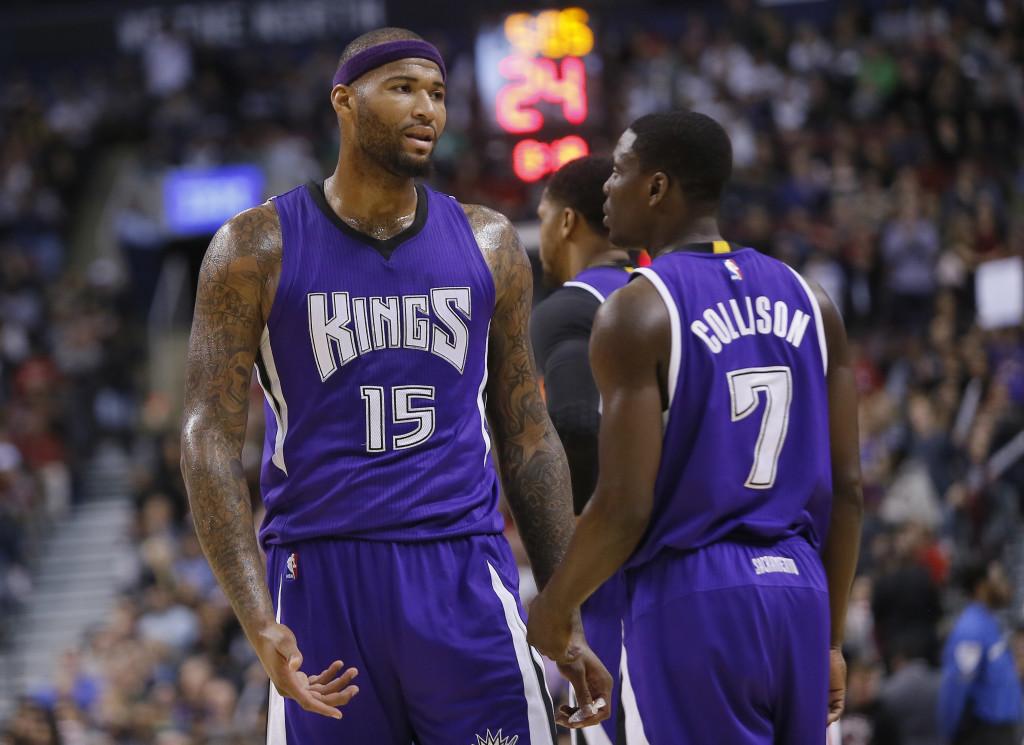 NBA: Sacramento Kings at Toronto Raptors