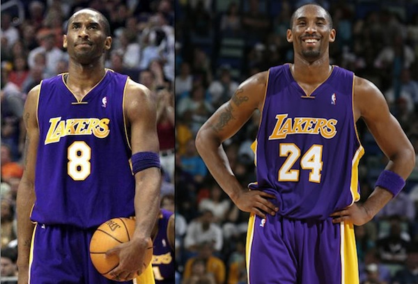 0bc8c4014ee4 Should Lakers Retire Both Kobe Bryant s Numbers  - DraftKings Playbook