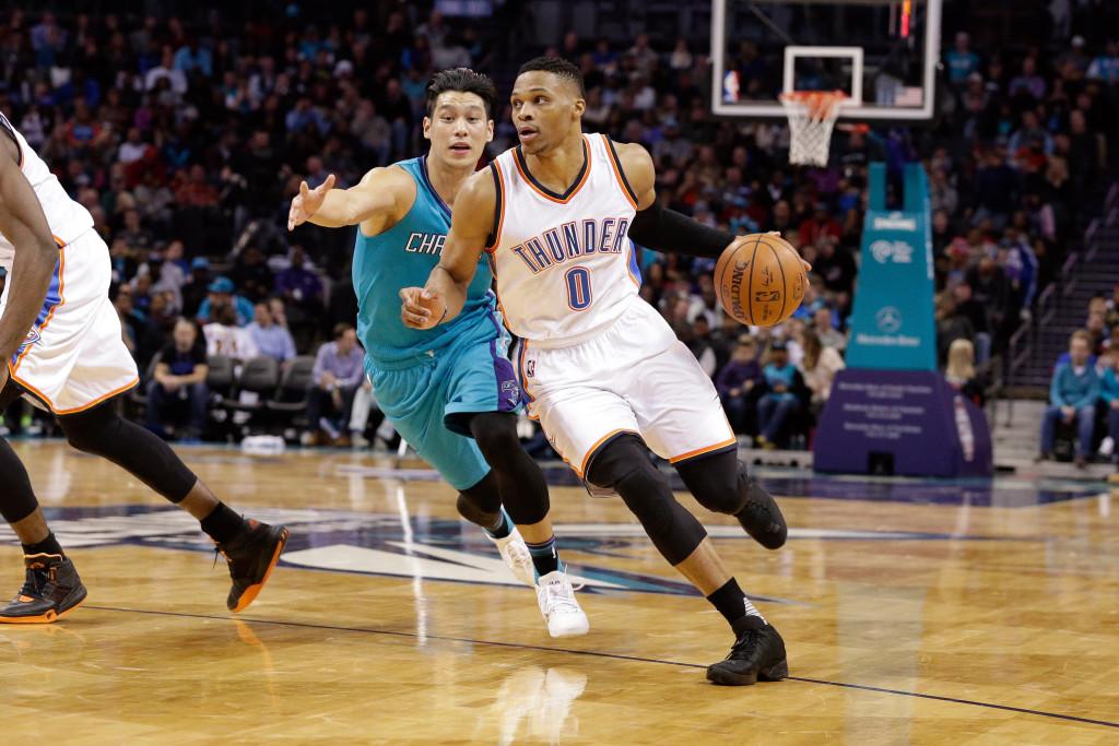 NBA: Oklahoma City Thunder at Charlotte Hornets