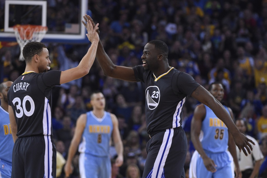 NBA: Denver Nuggets at Golden State Warriors